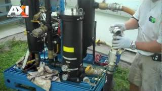 AXI Diesel Fuel Tank Cleaning