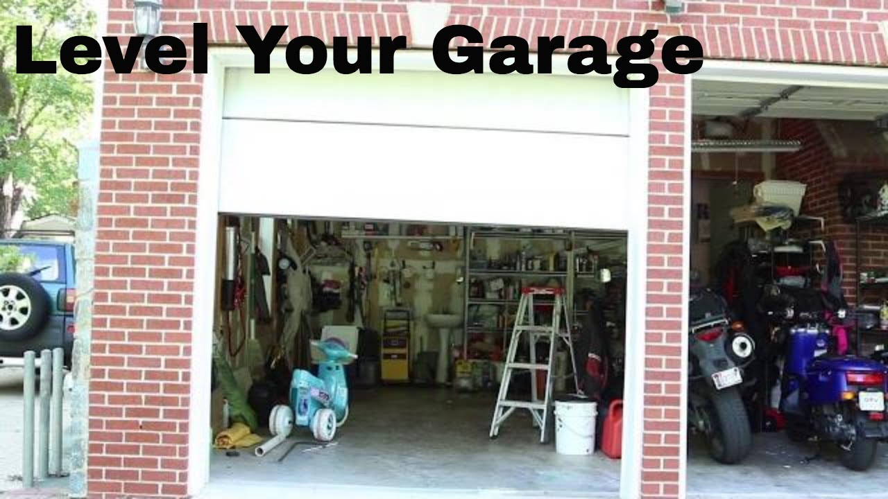 How to level your garage door