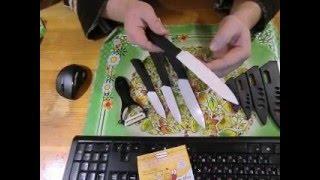 """Набор острых керамических ножей 3 """" 4 """" 5 """" 6 """" для кухни с Aliexpress Китай"""