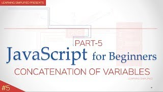 Javascript Tutorial for Beginners#5-concatenation of strings and numbers