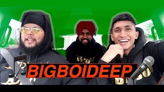 PUNJABI CARPOOL KARAOKE WITH BIGBOIDEEP