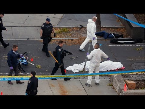 Raw video: NYC truck attack as terrorism returns to Lower Manhattan