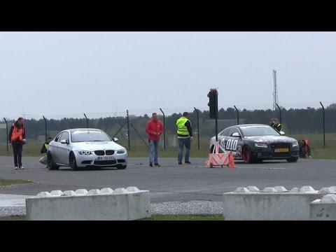 DRAGRACE | 600HP BMW M3 E92 G-Power vs Mercedes C63 AMG w/ iPE exhaust vs Audi S5