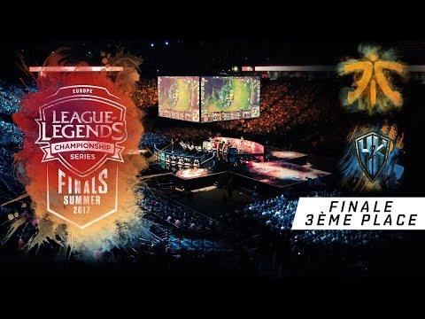 Fnatic vs H2k - LCS EU Summer Playoffs 2017 - Petite Finale - League Of Legends