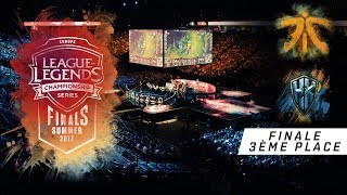 Video Fnatic vs H2k - LCS EU Summer Playoffs 2017 - Petite Finale - League Of Legends download MP3, 3GP, MP4, WEBM, AVI, FLV September 2018