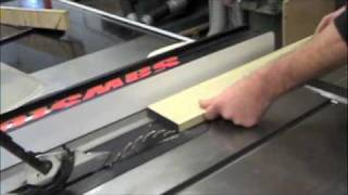 How To Use The Table Saw!