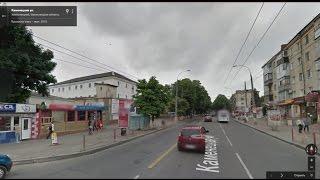 Часть 1. Город Хмельницкий Part 1. City Khmelnitsky(Картографические данные: Google, DigitalGlobe Map data : Google, DigitalGlobe Видео создано на основе дорожных панорам и Карт Google..., 2016-12-09T20:05:59.000Z)