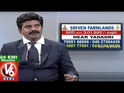 Sriven Farmlands | Low Cost Plots | Bachannapet | Jangoan | Real Estate | V6 News