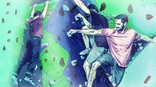 Taran and Dennis do SPORTS?! - Bouldering