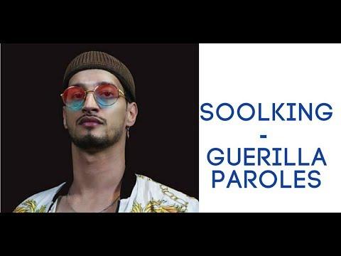 Soolking Guérilla  PAROLES ; LYRICS