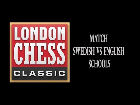 Chess Match Swedish VS English Schools
