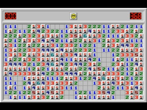 Minesweeper - Expert Difficulty With 140 Mines Instead Of 99