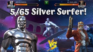 5/65 Silver Surfer vs Labyrinth Star-Lord! - Marvel Contest of Champions