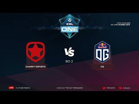 [RU] Gambit vs OG | bo2 | ESL One Katowice 2019 by @Tekcac