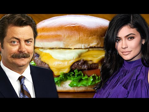 Which Celebrity Makes The Best Burger?