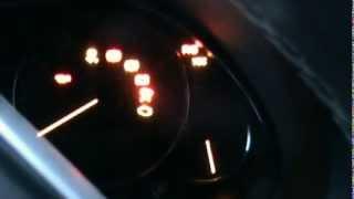 Запуск тойота авенсис -27°С//engine start toyota avensis/1zz/ -27°C