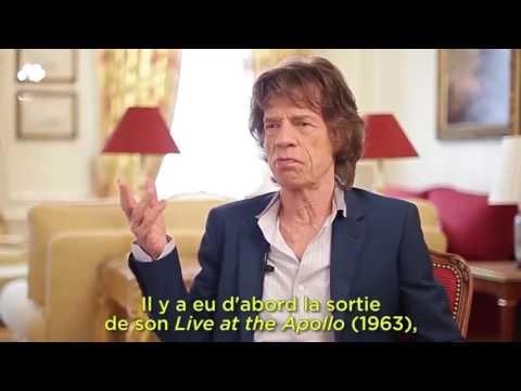Mick Jagger  habla como  chileno pa la pobla 2016