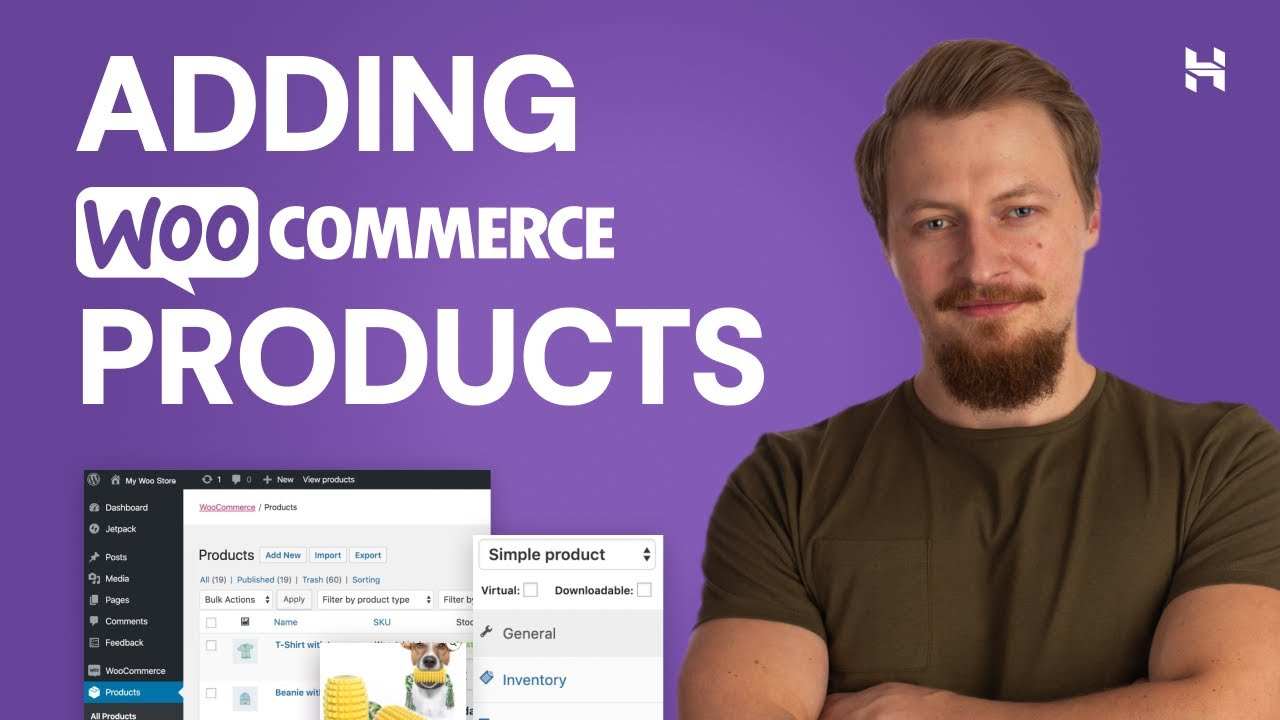 How to Add Products to WooCommerce Website   Simple and Variable Products