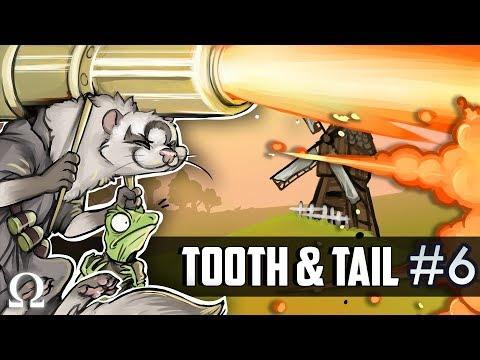 BUSTING OUT THE BIG GUNS! | Tooth & Tail #6 Gameplay Ft. Sattelizer