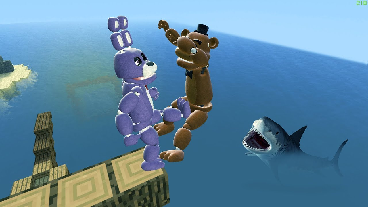 Watch Garry's Mod not ordinary ragdolls [MOD: FNAF2 Bonnie and