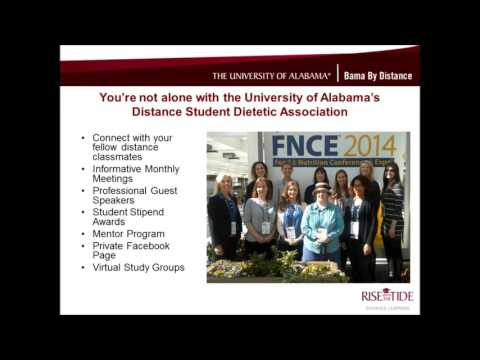 UA's Online Bachelor's in Food and Nutrition