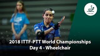 ITTF Para World Championships | Day 4 (Wheelchair) thumbnail