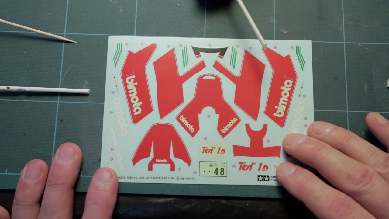 How To Fix Yellowed Decals For Model Kits