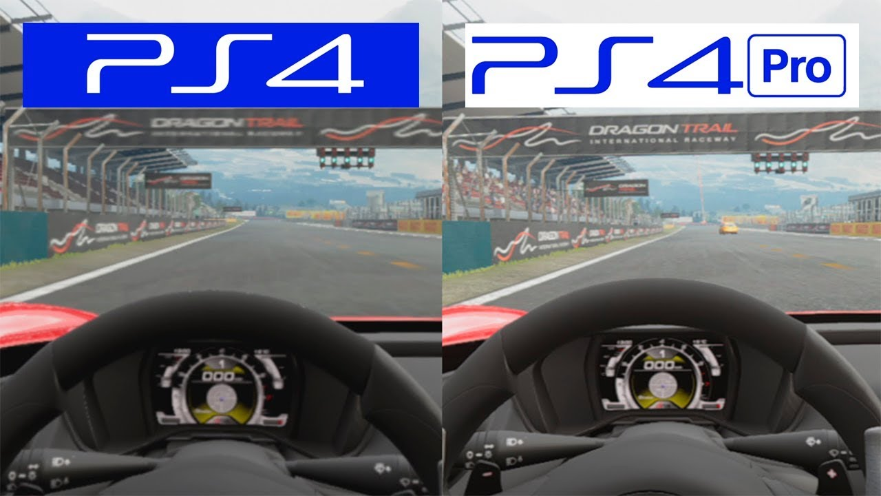gran turismo sport ps4 vs ps4 pro vr playstation vr comparison youtube. Black Bedroom Furniture Sets. Home Design Ideas