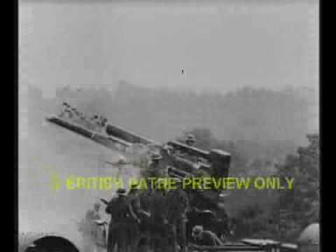 British 3.7 inch flak versus the V1 rocket