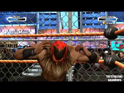 WWE SmackDown vs  Raw 2009   Doink the Clown vs  The Boogeyman