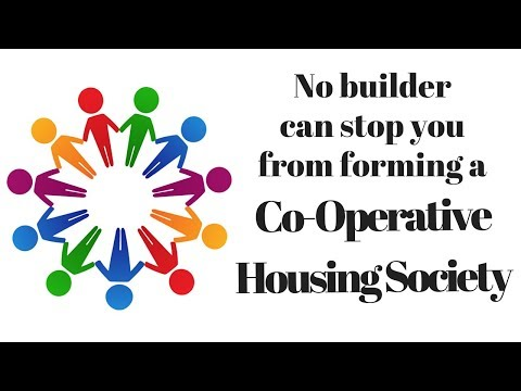 No builder can stop you from forming a Co-Operative Housing Society - Marathi Video