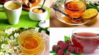 8 целебных напитков от простуды, полезное