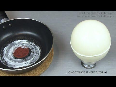 White Chocolate Sphere - EASY TUTORIAL