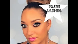 How to successfully apply false strip lashes Thumbnail