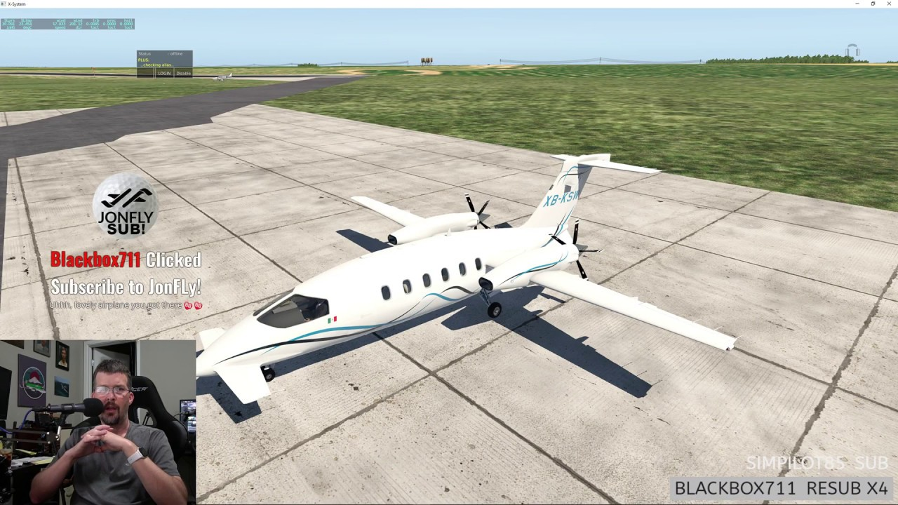 P 180 Avanti II - One of the better free aircraft for X-Plane