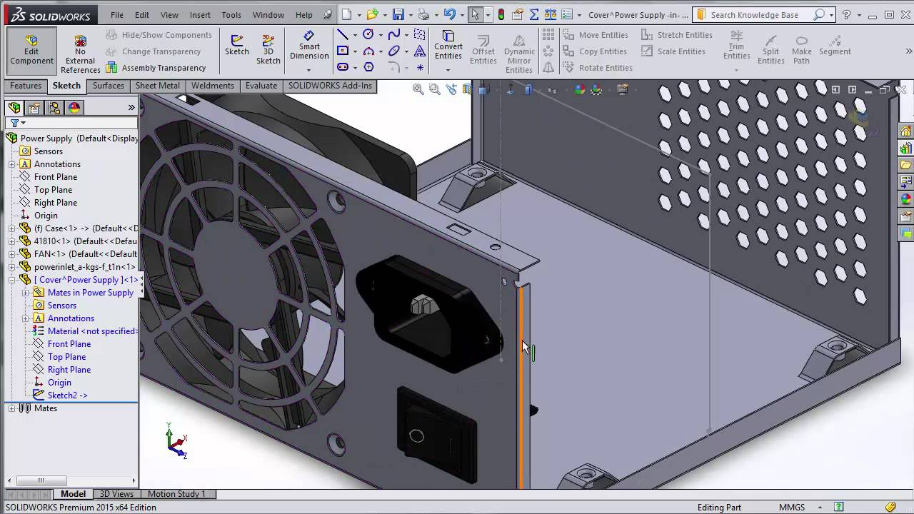 Introduction To Sheet Metal Design In Solidworks Youtube