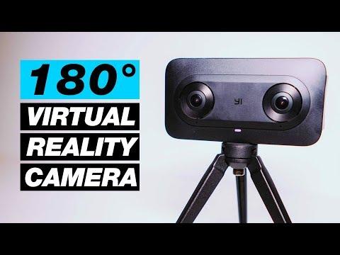 New 180 Degree Virtual Reality Camera — Yi Horizon VR180