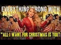 "أغنية Everything Wrong With Mariah Carey - ""All I Want For Christmas Is You"""