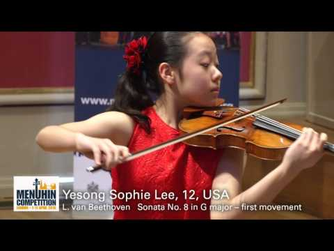Yesong Sophie Lee 12 USA