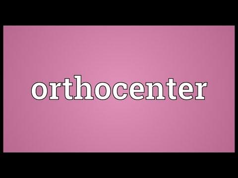 Header of orthocenter