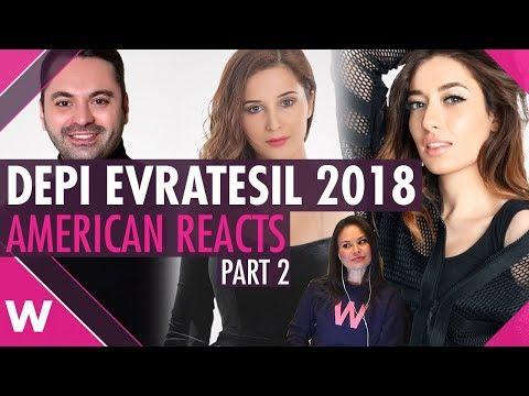 American reacts to Armenia's Depi Evratesil 2018 (Part 2)