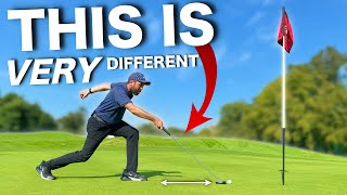 GROUNDBREAKING NEW WAY TO PUTT.....Does this putter work?