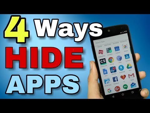 How To Hide Apps On Android Without ROOT And ROOT All Method In Hindi