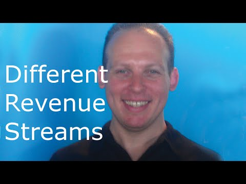 Revenue streams: different potential revenue models for your business