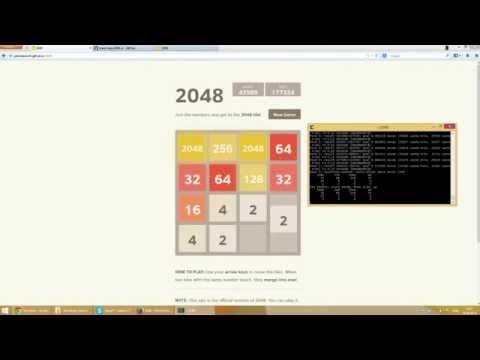 Бот для игры 2048 BitCoinRF.ru