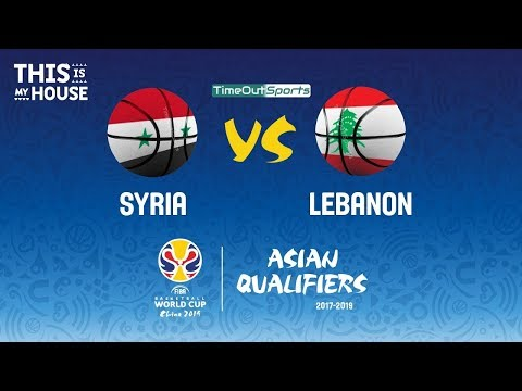 Syria vs Lebanon FULL Highlights | FIBA World Cup 2019 Asian Qualifiers