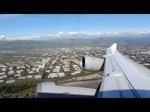Lufthansa Flight LH 489 (SJC-FRA) A340 Takeoff from San Jose (D-AIFF)