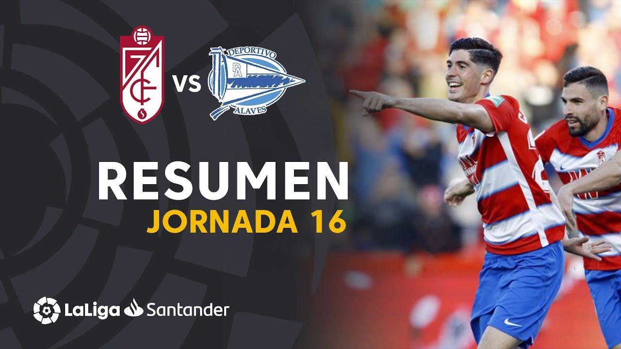 Гранада  3-0  Алавес видео