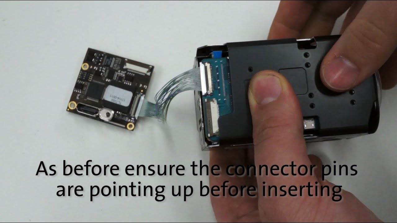 Connecting a Sony FCB block camera with an Aivion interface board