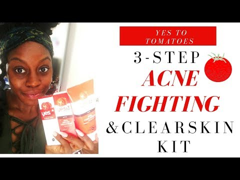 Yes To Tomatoes 3-Step Acne Regimen/ First Impressions
